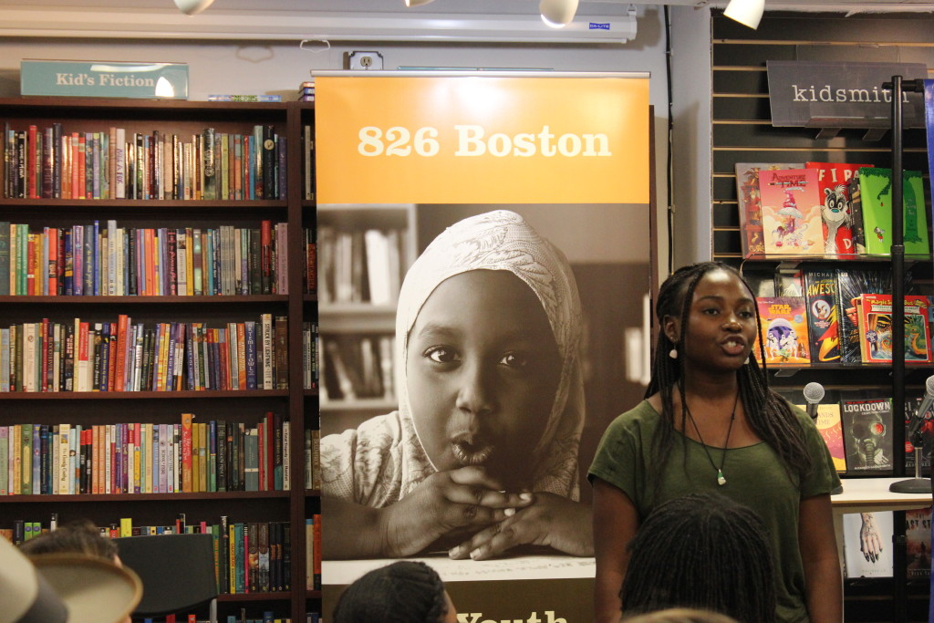 Mariama opens the show with her original spoken word poem.