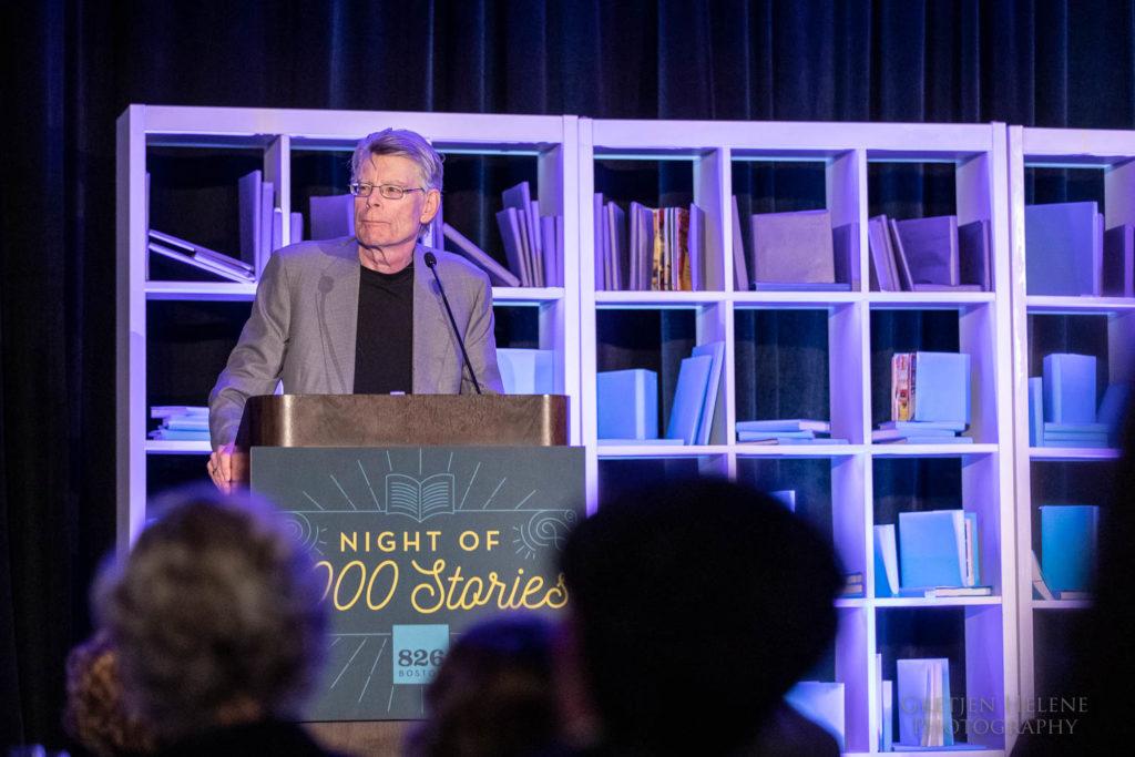 Stephen King speaking.