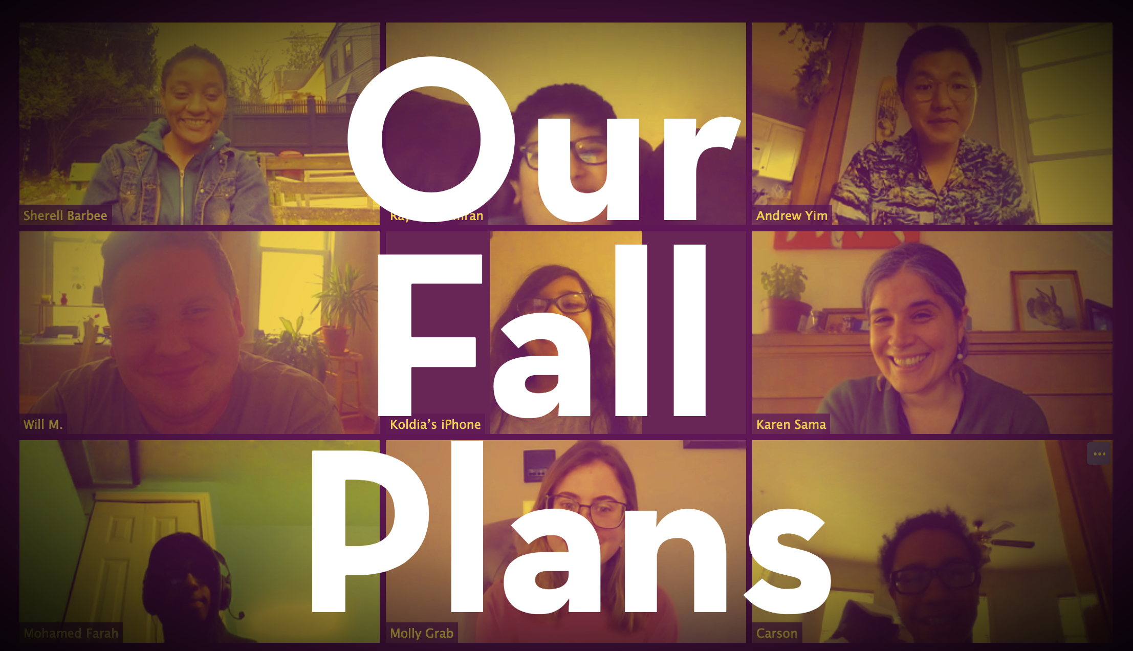 Read about 826 Boston's plans for the fall